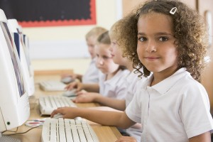 bigstock Children Studying On Computers 3916009 300x200 2011 Classroom Technology Blog Review: 31 Posts to Help K 12 Teachers use Technology and Software More Effectively
